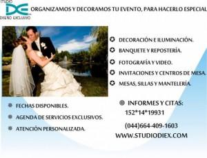 organizaci�n de eventos, bodas, el mejor servicio profesional.