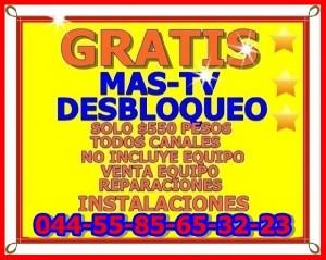▼▼▼mas-tv  todos canales  liberados sin mensulidades d x vida