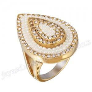 venta de la manera caliente de deseos anillo oro de acero