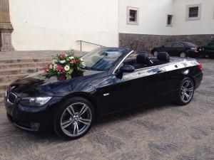 renta de auto para boda, xv a�os, bmw convertible, limusina