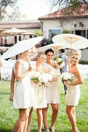 sombrillas de bamb� para bodas, sombrillas de bamb� para bodas