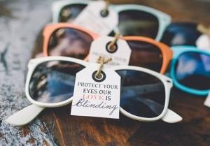 lentes wayfarer para recuerdo o regalo de boda