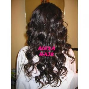 extensiones de cabello 100% naturales. excelente calidad de extesiones