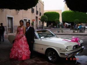 fabuloso mustang convertible para tu boda. unico en mexico para tu boda