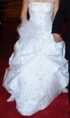 Vendo hermoso vestido de novia en color blanco
